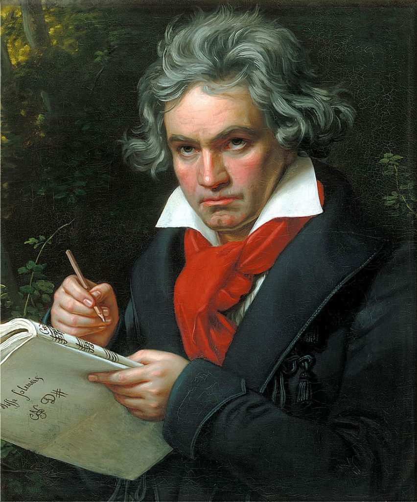 Ludwig Van Beethoven Music Piano Violin Viola Bass Cello Strings Singing Voice Guitar Ukulele Brass Trumpet Euphonium Woodwinds Oboe Flute Saxophone Clarinet Drums Percussion Lessons Classes Teachers Instructors Online Virtual Columbus, OH Bexley, OH